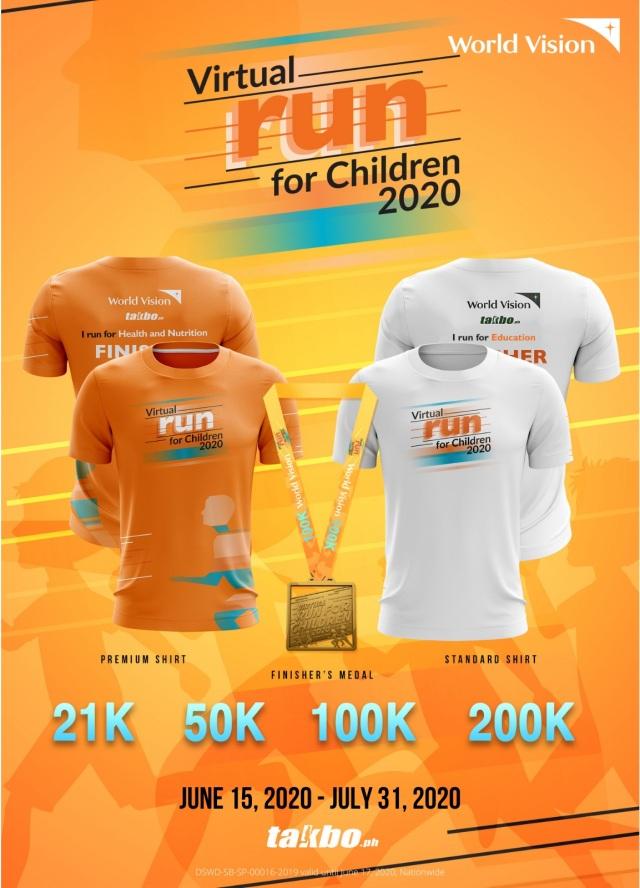 WV Virtual Run Poster