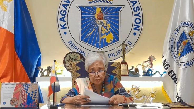 DepEd Secretary Leonor Briones