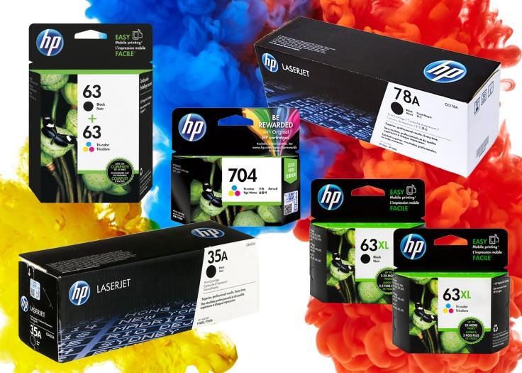 HP inks 2